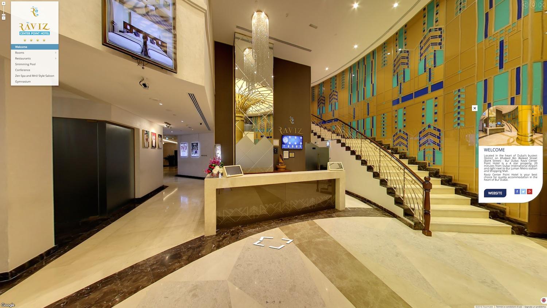 Il primo hotel a Dubai con booking integrato nel virtual tour