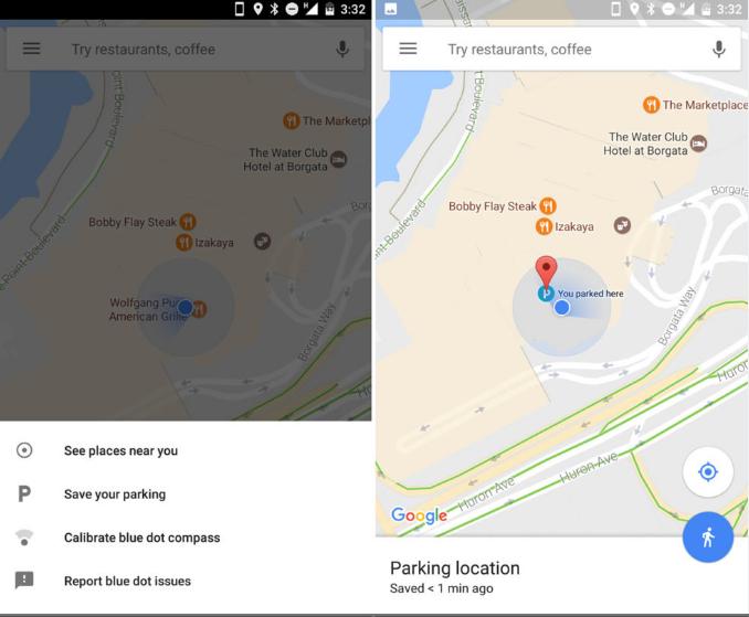 Da oggi Google Maps ti permette di salvare il tuo parcheggio