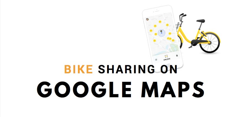 Google Maps e Bike Sharing: ora è tutto più facile ed in tempo reale!