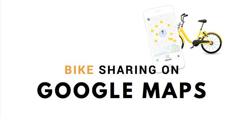 Google Maps e Bike Sharing: ora è tutto più facile ed in tempo reale!
