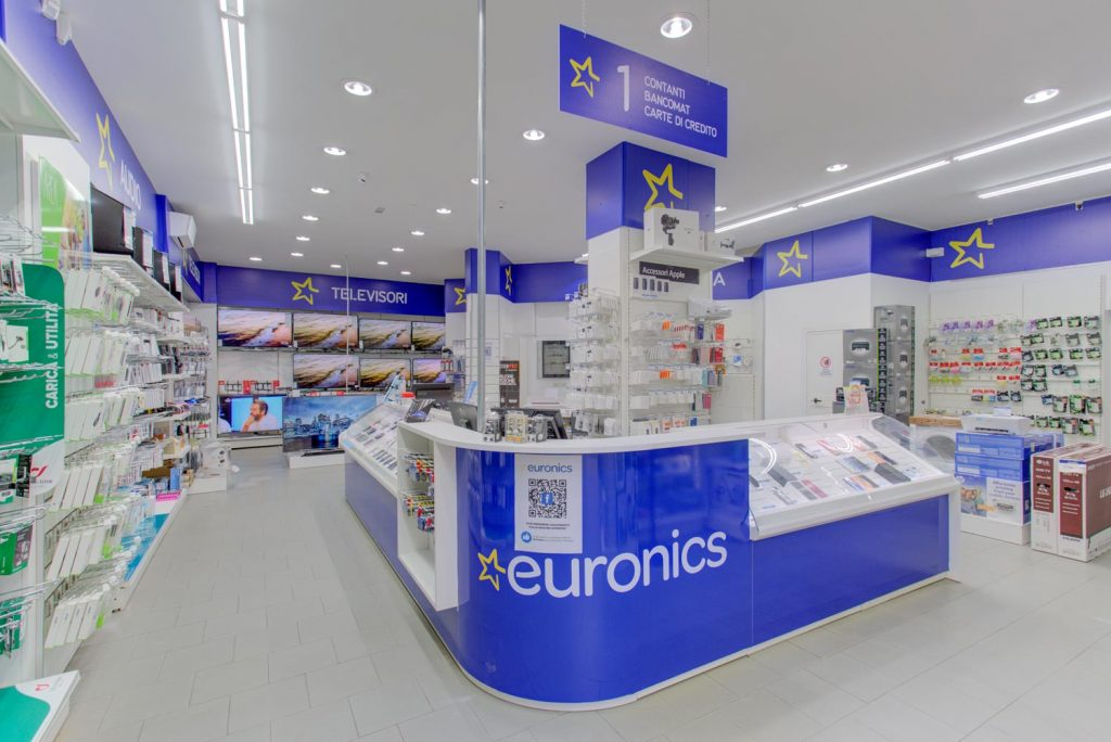 Virtual tour Euronics Roma