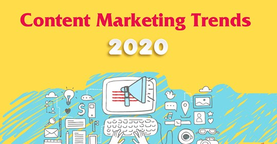 Content marketing: 7 tendenze di marketing digitale per il 2020
