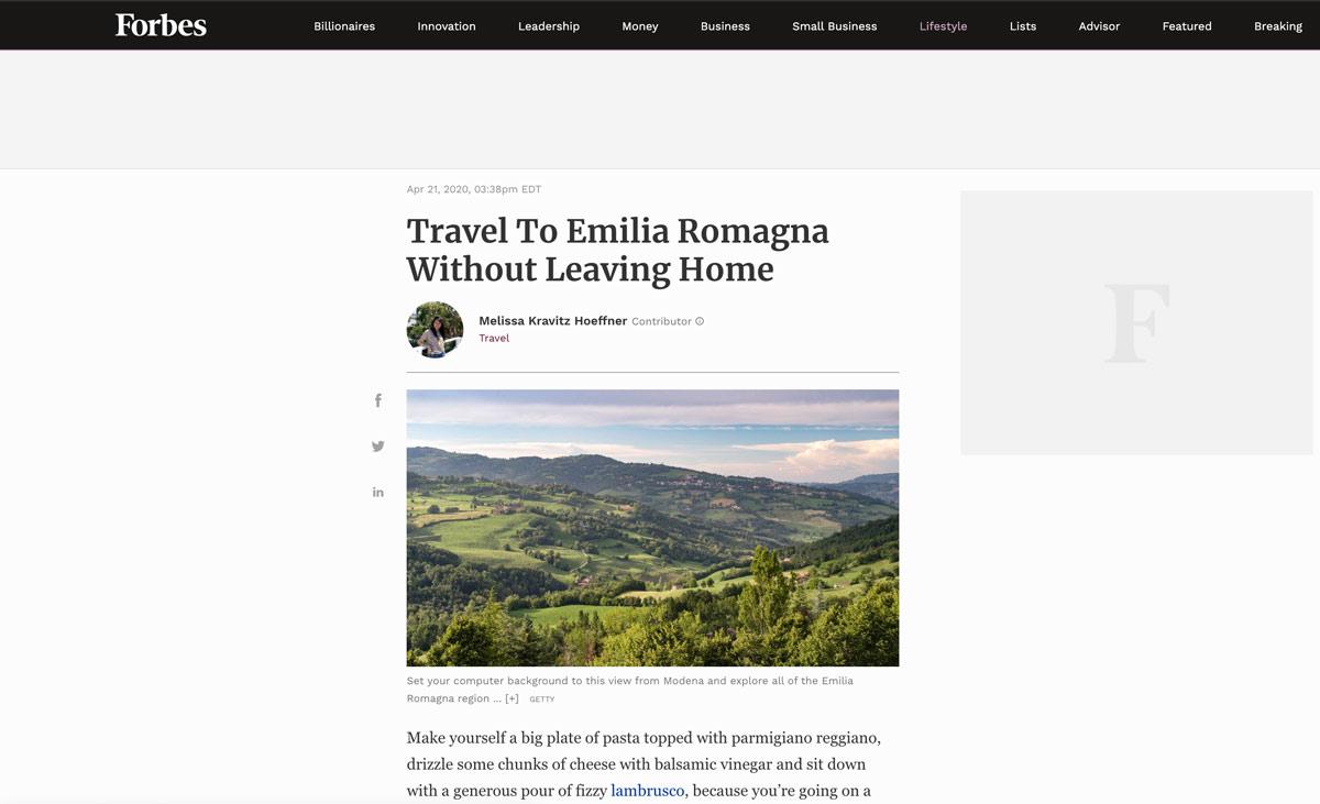Il nostro virtual tour della Mostra Fellini 100 approda su Forbes!