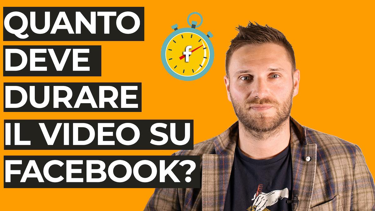 Quanto deve durare il video del tuo hotel su Facebook?
