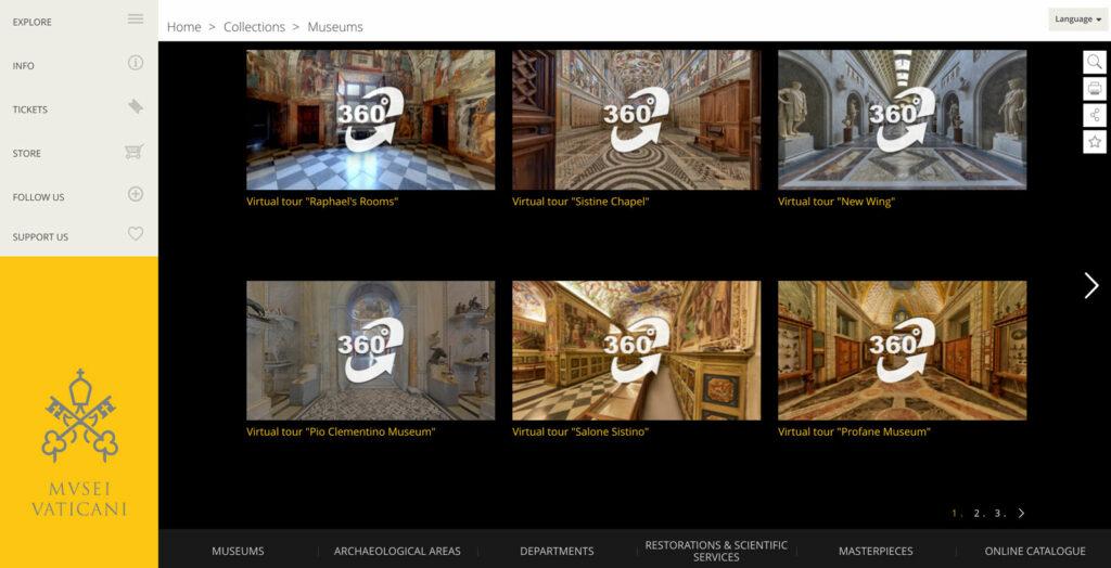 10 musei da visitare con il virtual tour