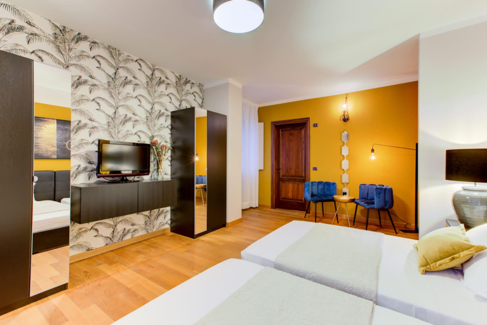 foto d'interni camera hotel